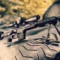 MDT Crosse chassis ESS pour Rem 700 action courte noire avec crosse pliante