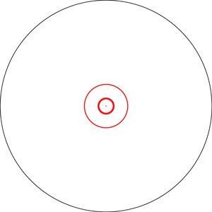 Viseur point rouge Vortex Spitfire 1X AR   Red Dot Vortex Optics
